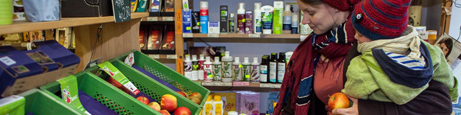 Kosmetik im Wurzelwerk - Bioladen und Einkaufsgemeinschaft in Berlin